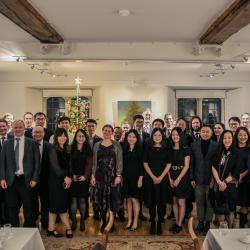 CPDS held annual Christmas Formal at Trinity Hall College (2019.12.20)