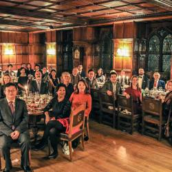CPDS held annual group formal in Peterhouse (2018.12.05)